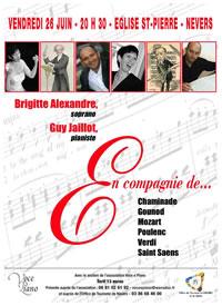 Concert Brigitte Alexandre