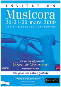 Invitation Musicora 2009