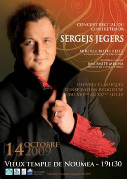 Sergejs Jegers - Noumea 2009